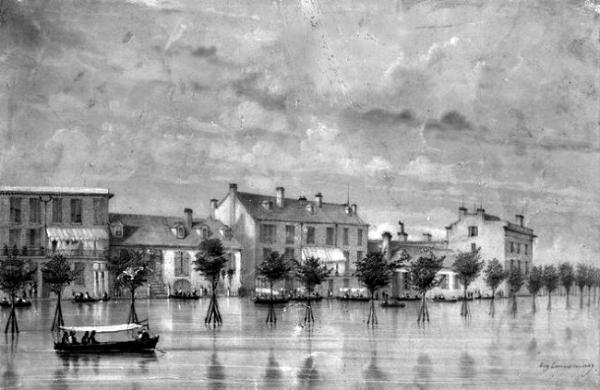 Orleans Flut 1849