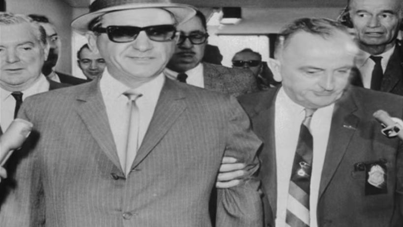 Mafia Giancana verhaftet