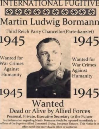 Bormann dead or alive